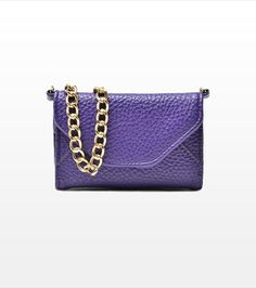 This chic purple iPhone 4 case is all you need to carry your phone and credit cards!