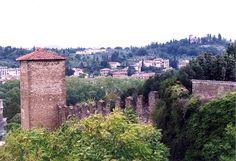 Forte di Belvedere, viewed from Boboli Gardens