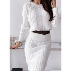 Outfits Casual, Mode Outfits, Casual Dresses, Fashion Dresses, Elegant Dresses, Sexy Dresses, Summer Dresses, Cute Sweater Dresses, Sheath Dresses