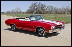 1970 Chevrolet Chevelle LS6 Convertible 454/450 HP