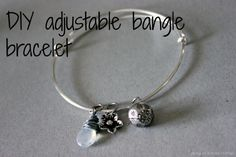 How to make an adjustable bangle bracelet- YESSSS!! Been looking for a FREE tutorial! Be on the look out for pics on #rubysgiftjewelry
