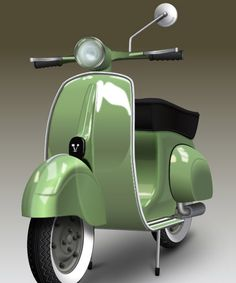 How to Create a Detailed Vespa Using Adobe Illustrator