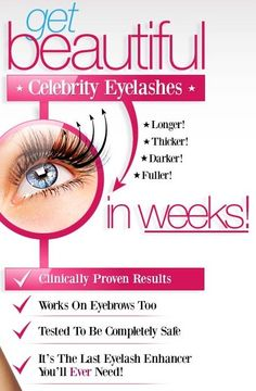 Eyelash Growth Formula - grow eyelashes