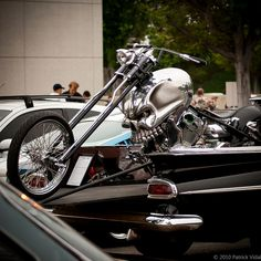 Skull Chopper...... That's awesome