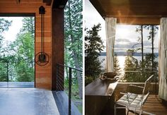 The house is located in Bigfork Montana United States is located on the sides of a long hill.