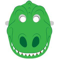 Make A Dinosaur, Dinosaur Mask, Dinosaur Crafts, Dinosaur Template, Festa Jurassic Park, Rainbow Cartoon, Toddler Arts And Crafts, Halloween Games For Kids, Mask Template