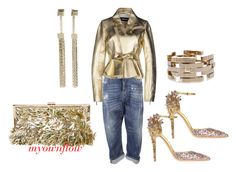 """THE MIDAS TOUCH"" by myownflow on Polyvore featuring Dsquared2"