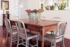 Mesa antiga - sala de jantar