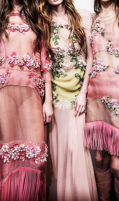 Fuck Yeah Fashion Couture | Backstage Alberta Ferretti Spring-Summer 2015