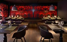 Take a look at the luxury interior of the Kameha Grand Zurich Hotel