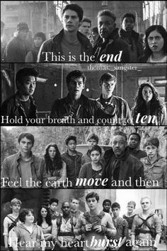 I know it's meant to be a feels thing But… On the third picture, Newt's face is hilarious!!