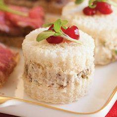 tea party sandwiches christmas - Recherche Google