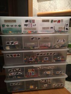 Lego Kleinteile perfekt sortiert Power Strip, Lego, Electronics, Creative, Sorting, Legos, Consumer Electronics
