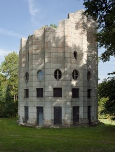 The Broken Column House, Chambourcy, Forêt de Marly, France  François Racine de Monville, circa 1780