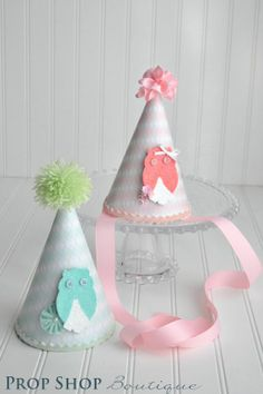 party hats for boys | Birthday Party Hat, boy or girl, photography prop, 1st birthday, party ...