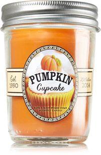 Pumpkin Cupcake Mason Jar Candle - Home Fragrance - Bath & Body Works