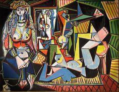 "Picasso - ""Les Femmes d'Alger (Version 'O'),"" 1955"