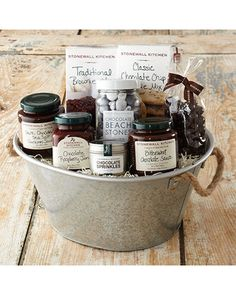 Stonewall Kitchen Chocolate Lovers Gift Basket from Stonewall Kitchen | BHG.com Shop