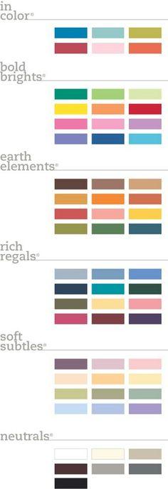 The breakdown of colors