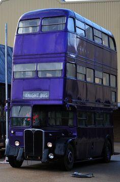 knight bus! hp studio tour london