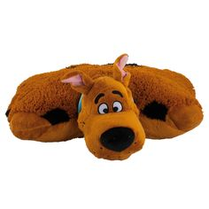 "Original Warner Brothers 18"" Scooby Doo Pillow Pets Childrens Kids Cuddle Bedtime Pillow Pet: Amazon.co.uk: Toys & Games"