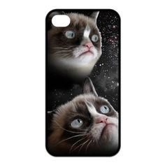 Funny Grumpy Cat Case Cover for iPhone 4/4S #GrumpyCat #iPhone4Cases