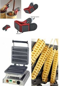 um, yes. waffles on a stick please.    New Inventions By Creative Minds