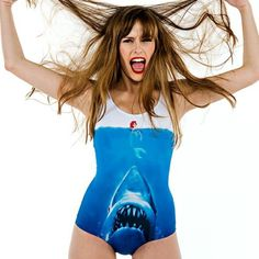 I don't know if this is just me but this swimsuit would make me afraid of going near her vagina lol @Maggie Mills