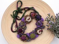 Handmade necklace by rRradionica on Etsy, €80.00