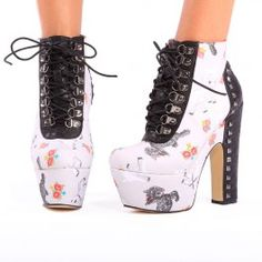 Iron Fist Black Sheep Bootie... I want these SO bad.