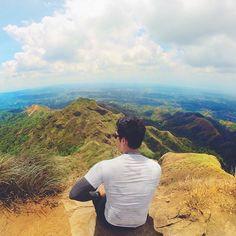 The best view comes after the hardest climb! Such a sweeet success! #mtbatulao #explorePH #jmadventures