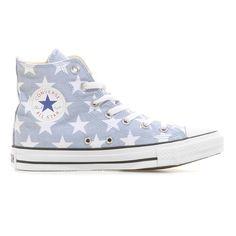 Converse   CHUCK TAYLOR ALL STAR HI Sneaker High   mirage grey-white   http://www.mysportworld.de/converse-chuck-taylor-all-star-hi-sneaker-high-mirage-grey-white.html
