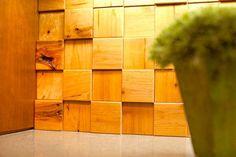 Wood tiling