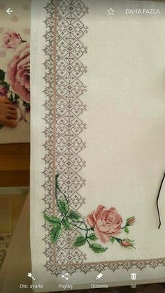 1 million+ Stunning Free Images to Use Anywhere Hardanger Embroidery, Ribbon Embroidery, Cross Stitch Embroidery, Cross Stitch Borders, Cross Stitch Designs, Cross Stitch Patterns, Embroidery Patterns Free, Embroidery Designs, Palestinian Embroidery