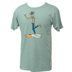 #Billabong Mens Shirt Andy Davis Pelican Man Tee Overcast #andydavis