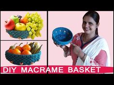 Macrame Basket | Macrame Art School | FULL STEP BY STEP VIDEO TUTORIALS - YouTube