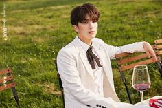 TS Entertainment recently shared individual images of B.A.P members Youngjae, Himchan, and Bang Yong Guk for their upcoming mini album 'BLUE'. Bap Youngjae, Himchan, Korean Celebrities, Celebs, K Pop Star, Latest Pics, Perfect Man, Life Is Beautiful, Korean Singer