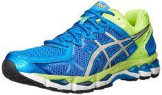 ASICS Men's Gel-Kayano 21 Running Shoe,Royal/Lightning/Flash Yellow,11 M US