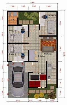 Best apartment furniture layout floor plans dream homes ideas Small House Floor Plans, New House Plans, Modern House Plans, House Layout Plans, House Layouts, Minimalist House Design, Small House Design, Casa Loft, Loft House