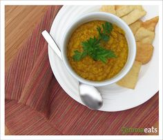 Lucky Ducky Dhal - easy comfort food that's good for you.