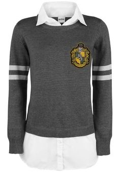 Hufflepuff 2 in1 Pullover - Sweatshirts van Harry Potter