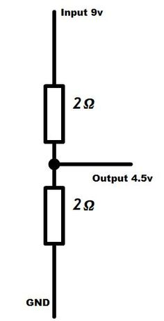 Simple Voltage Divider Voltage Divider, Circuits, Electronics, Learning, Simple, Studying, Teaching, Consumer Electronics, Onderwijs