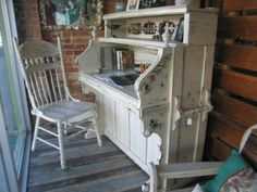 piano made into desk