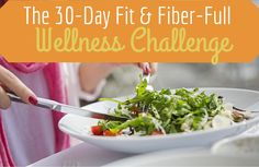Reset from the Inside Out in 30 Days! Take some time to reset and recharge with our fit and fiber-full wellness challenge! | via @SparkPeople