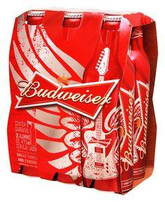 Budweiser lança nova série de garrafas de alumínio - EmbalagemMarca