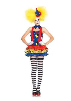 Giggles The Clown Costume, Leg Avenue