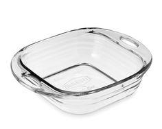 "Baked Glass Baking Dish, Square, 8""x8"" #williamssonoma"