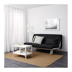 IKEA PS LVS 2er Bettsofa Rute Schwarz