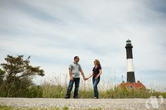 kelly + tom's engagement session . fire island, new york Fire Island New York, Tom S, Lighthouse, Engagement Session, Backdrops, Couple Photos, Beach, Places, Blog