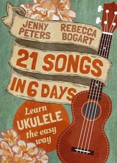21 Songs in 6 Days: Learn Ukulele the Easy Way: Book + online video: Volume 1 (Beginning Ukulele Songs) Ukulele Books, Easy Ukulele Songs, Cool Ukulele, Ukulele Tabs, Ukulele Chords, Ukulele For Beginners Songs, Music Lessons, Guitar Lessons, Music Classroom